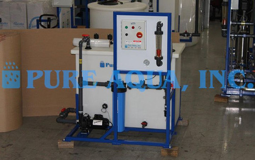 Membrane Cleaning Skid 30 GPM - Sri Lanka