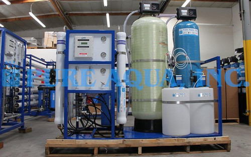 Skid Mounted RO System 15000 GPD - Philippines
