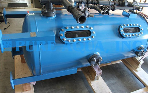 Mixed Bed Deionizer Unit 50,000 GPD - Kuwait