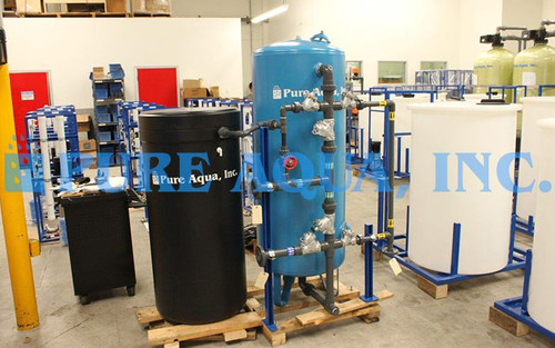 Water Softening Equipment 80,000 GPD - Kuwait