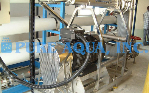 Industrial Seawater Reverse Osmosis Unit 100,000 GPD - Qatar