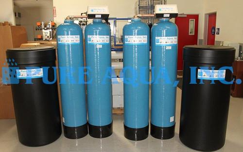 Twin Alternating Water Softener - USA
