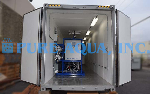 Containerized Brackish Water RO System Venezuela