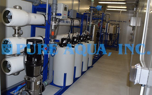 Containerized Reverse Osmosis Plant Niger