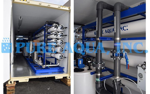Containerized Industrial Reverse Osmosis Plant for Cement Manufacturing Iraq
