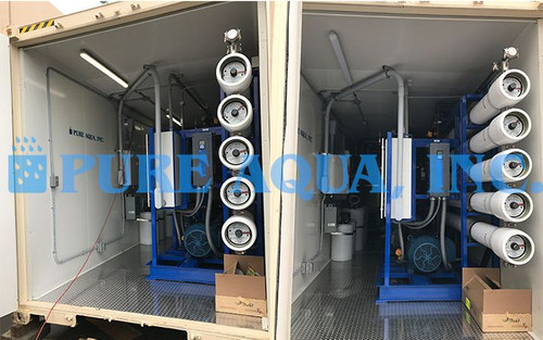 Containerized Seawater Reverse Osmosis System Venezuela