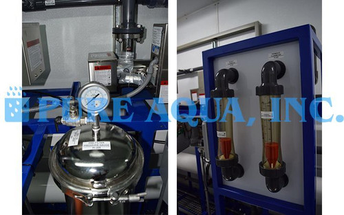 Containerized Brackish Water RO Plant 57,000 GPD - Ghana