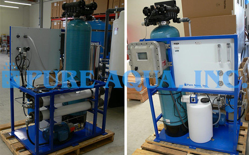 Seawater RO System 2,100 GPD - Indonesia