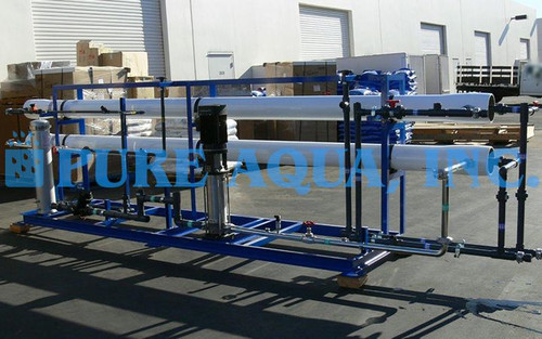 Double Pass RO System for Chevron USA