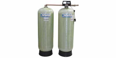 Twin Tank Water Softener SF-900F with Fleck Valve