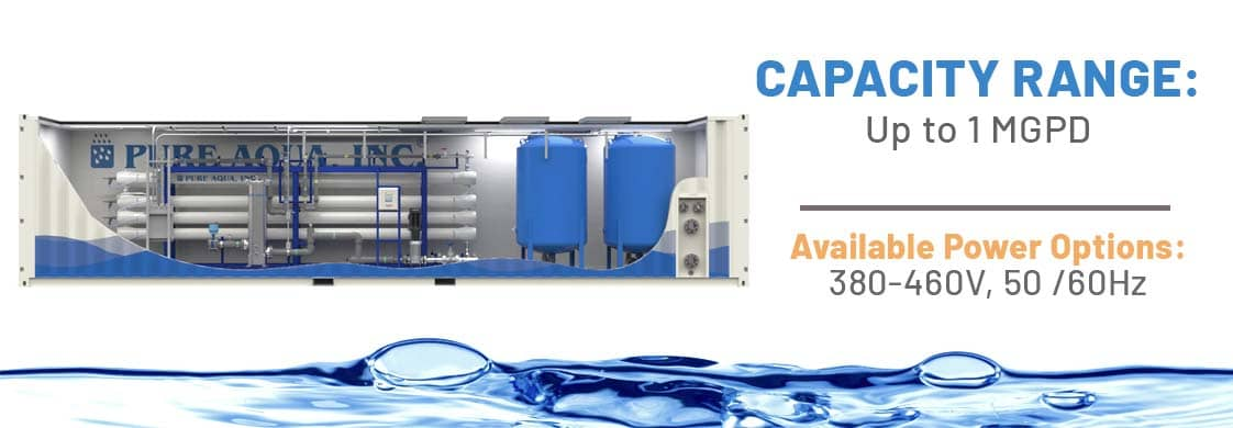 Containerized Reverse Osmosis Systems CRO