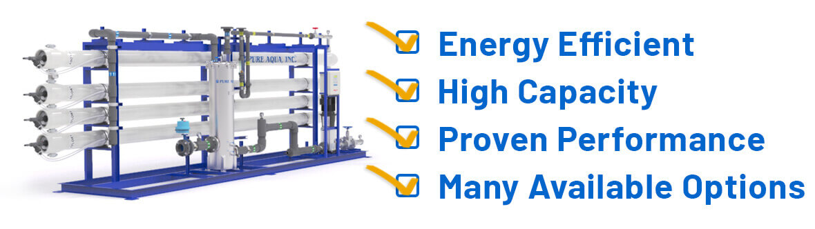 industrial reverse osmosis RO systems features