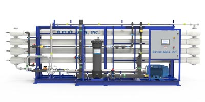Industrial Seawater Reverse Osmosis Desalination Systems SWI