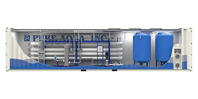 Containerized / Mobile Reverse Osmosis Systems CRO