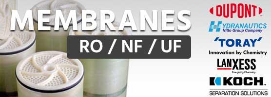 RO UF NF membranes
