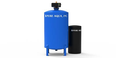 Commercial Water Softening womanizer dual SF-150S with Fleck Valve