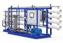 Systèmes d'osmose inverse pour l'eau de mer