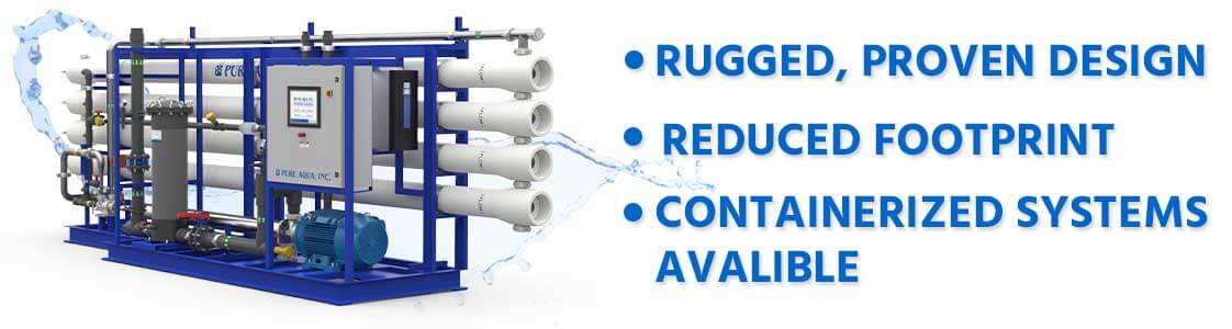 seawater desalination reverse osmosis industrial systems SWRO 8000-500000 gpd features
