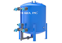 water media filter filtration systems