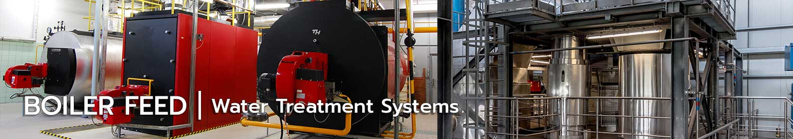 Boiler feed water treatment plants