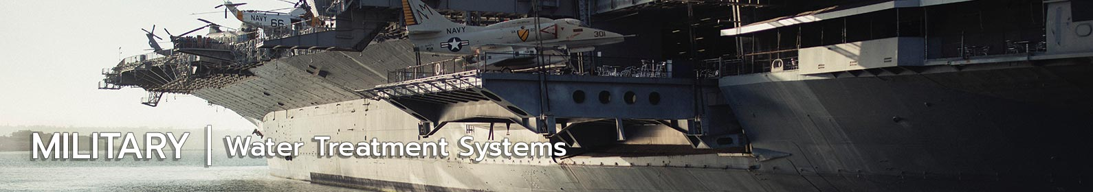 water treatment systems for military industry