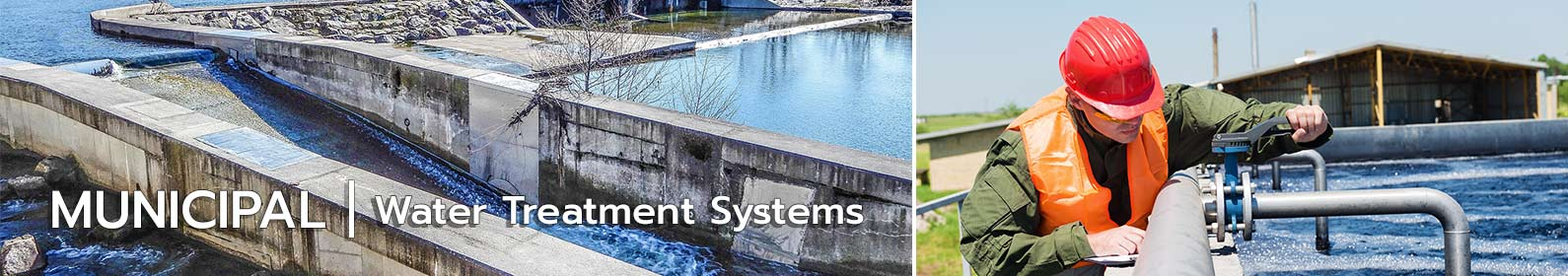 water treatment systems for municipal industry
