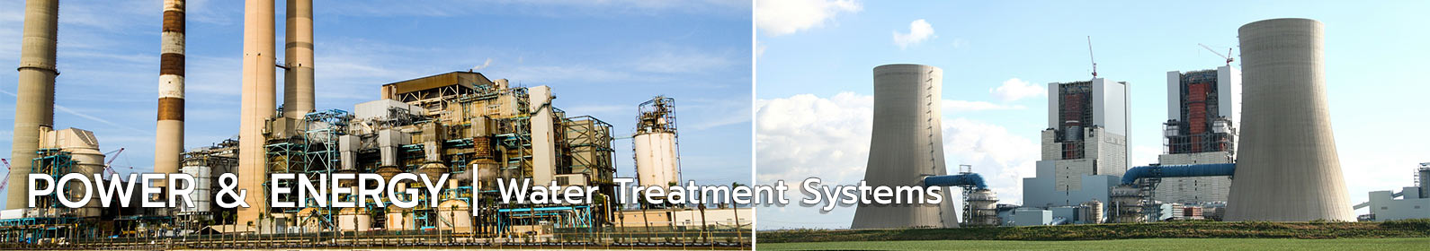 water treatment systems for power energy industry