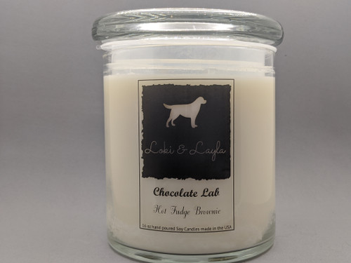 Chocolate Lab - Hot Fudge Brownie 16oz candle