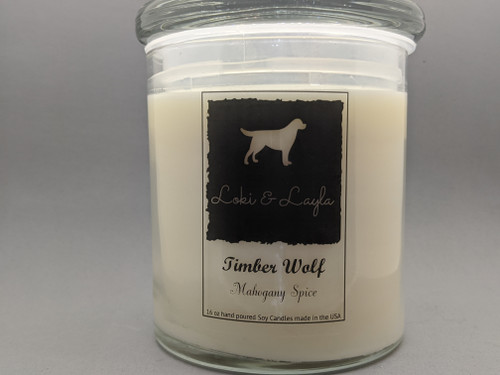 Timber Wolf - Mahogany Spice 16oz candle