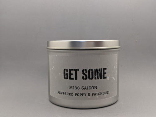 GET SOME - Miss Saigon - Peppered Poppy & Patchouli 16oz candle