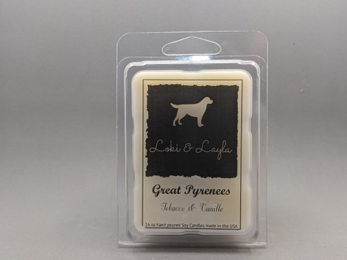 Great Pyrenees - Tobacco & Vanille 2.7oz MELTS