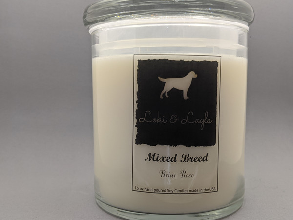 Mixed Breed - Briar Rose 16oz candle