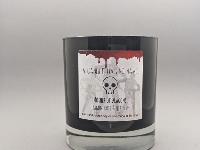Mother of Dragons - Dragonfruit & Hibiscus 9oz candle