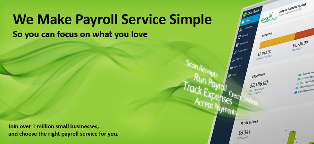 We make payroll service simple so you can focus on what you love. Join over 1 million small businesses and choose the right payroll service for you.