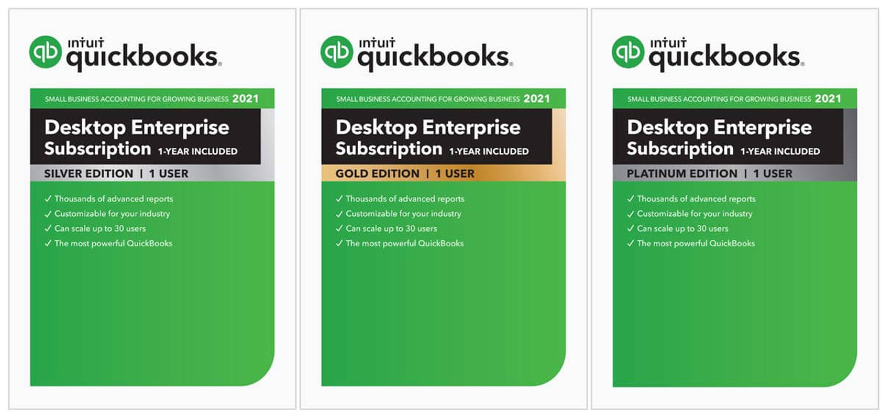 QuickBooks Enterprise. For your business needs.