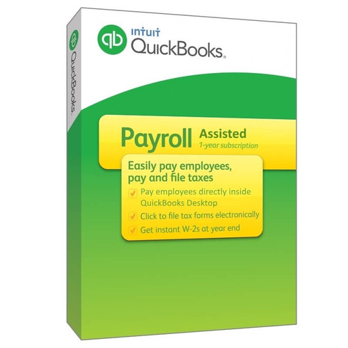 Intuit QuickBooks Payroll Assisted*