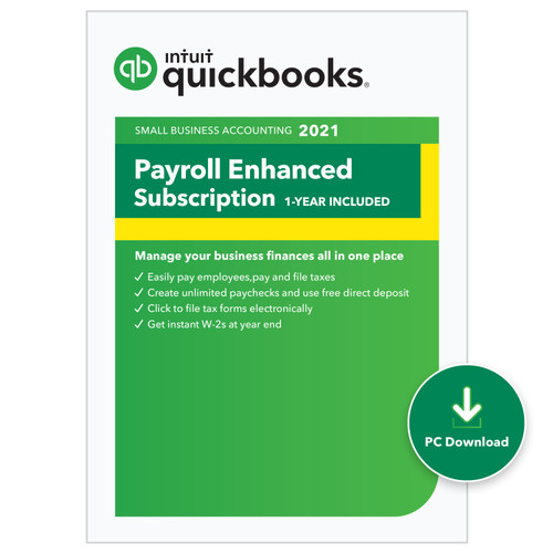 Intuit Desktop Enhanced Payroll