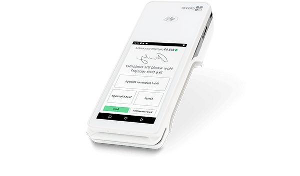 Serve customers better – at the counter, in line, at the table, or in the field – with the Clover Flex handheld POS system.