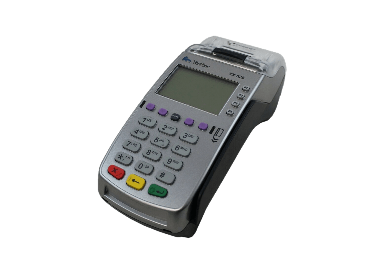 The VX520 is everything a countertop device should be. Delivering unprecedented performance, lighting-fast speeds, and uncompromised security, this power-packed payment device works hard so you don't have to.