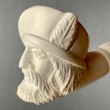 Renaissance Man Segmented Stem Meerschaum Churchwarden by Paykoc