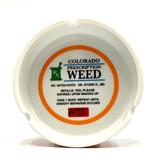 "Colorado RX Weed Prescription Ashtray  4"" Glass Ashtray"