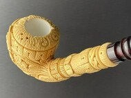 Geometric Design Meerschaum Pipes
