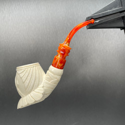 They're in the Bushes Freemason Meerschaum pipe M74027