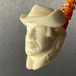 American Cowboy of the West by Master Carver Baglan Meerschaum Pipe Paykoc