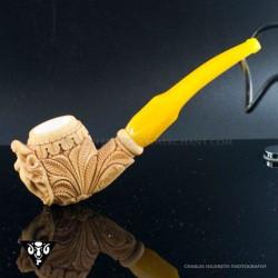 Master Mesut Meerschaum Elephant Tobacco Pipe_051815