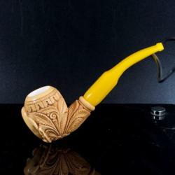 Master Mesut Meerschaum Dolphin Tobacco Pipe _220906