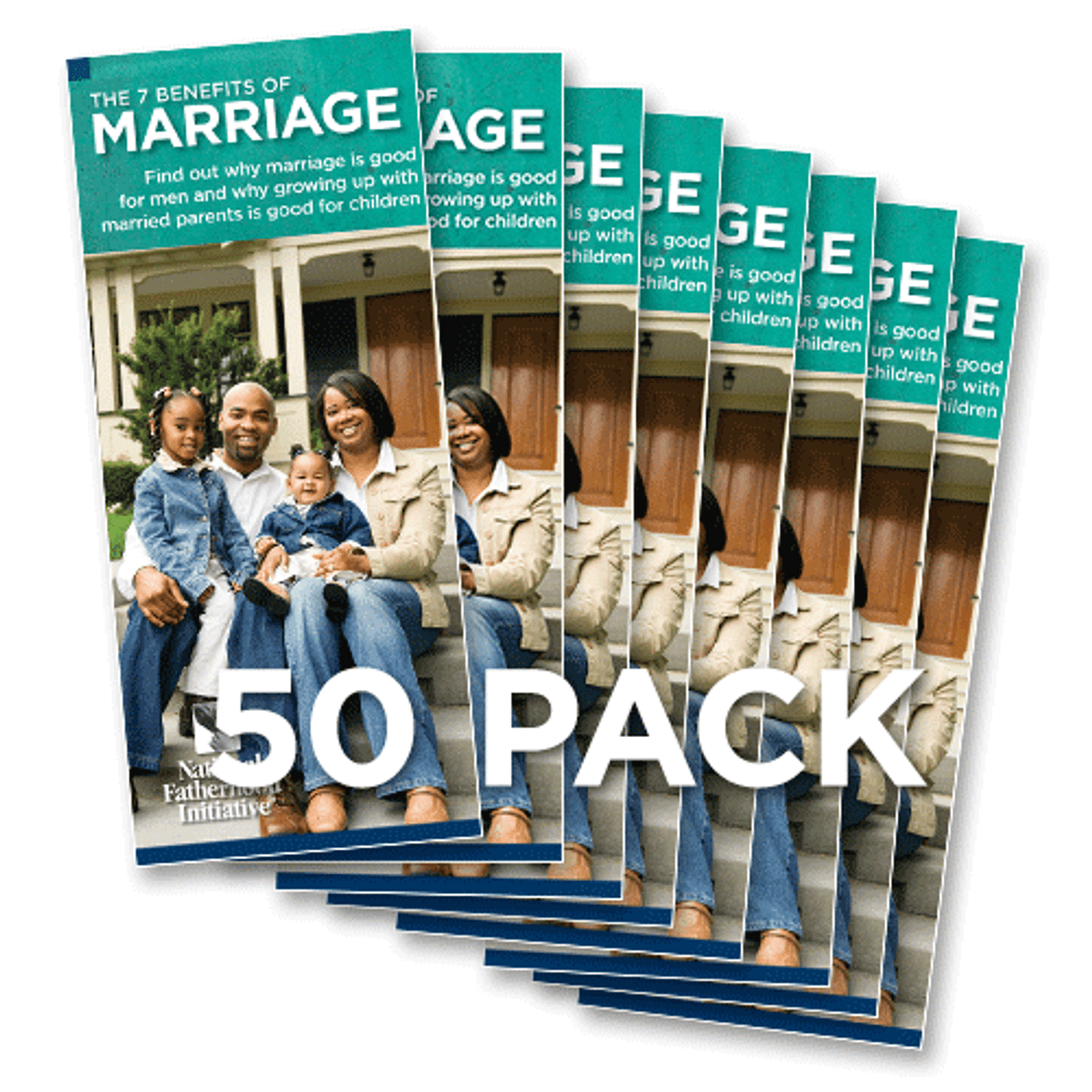 Brochure: 7 Benefits of Marriage for Men (Pack of 50)