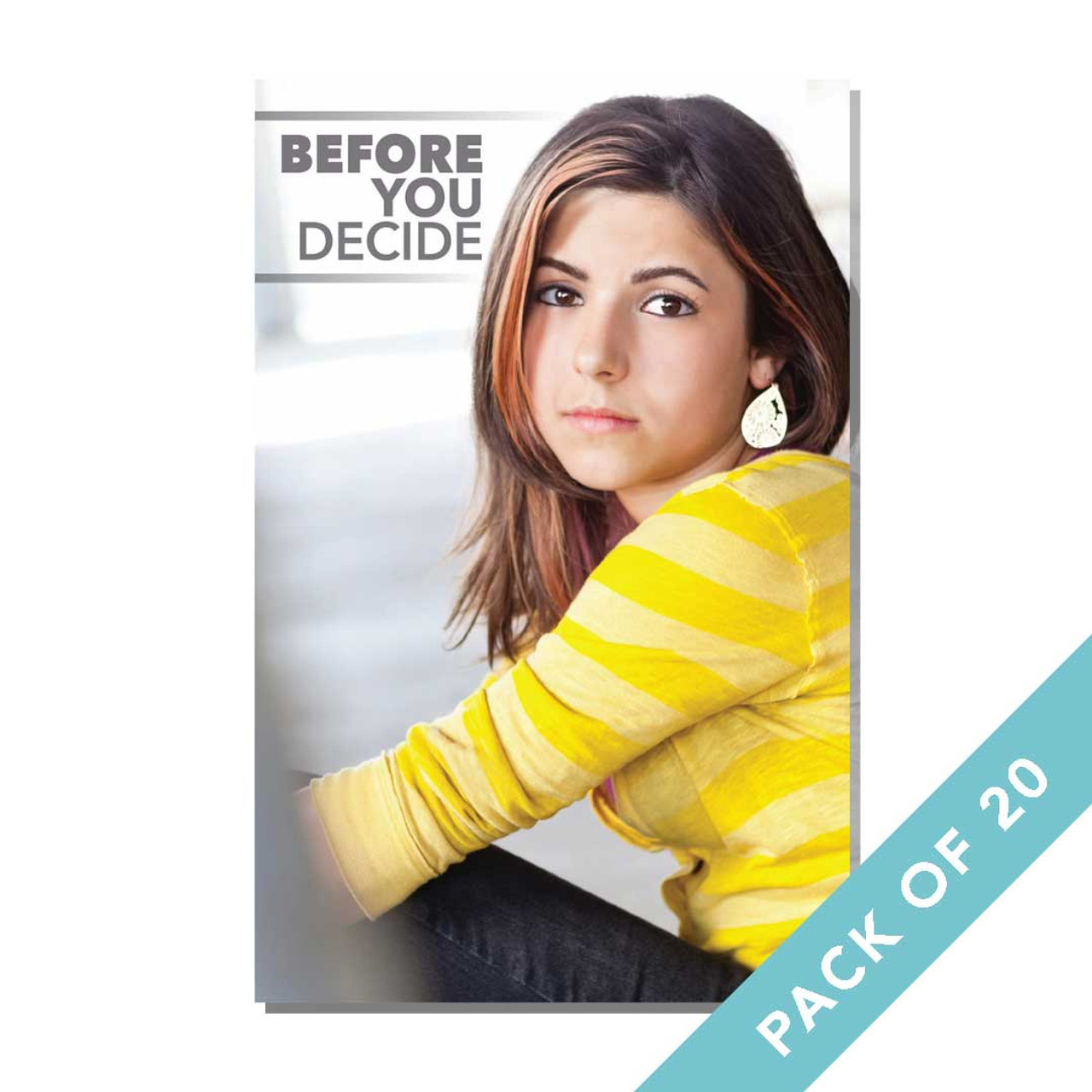 Before You Decide Brochure (Pack of 20)