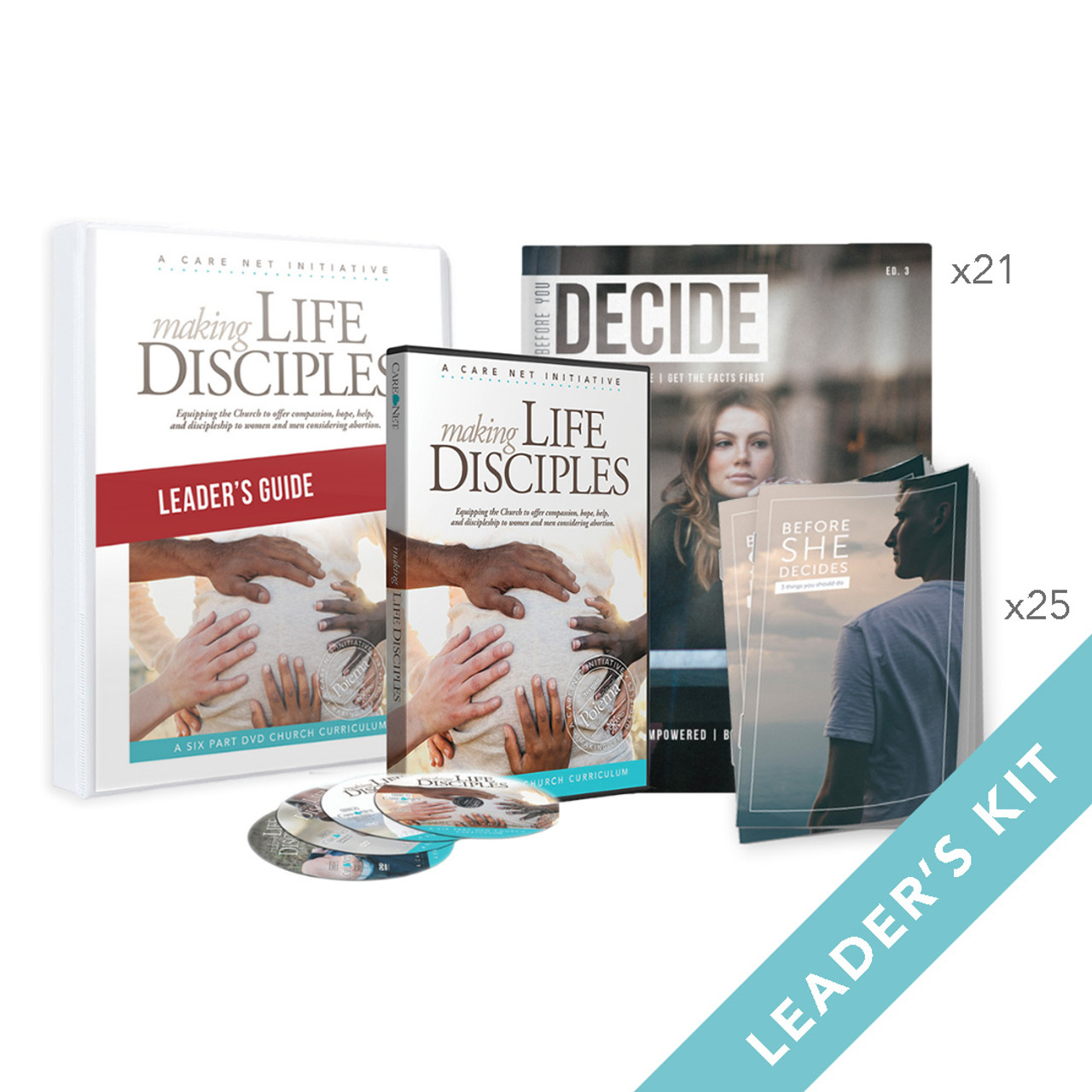 Making Life Disciples Church Curriculum - Leader's Kit (CH16LKIT)