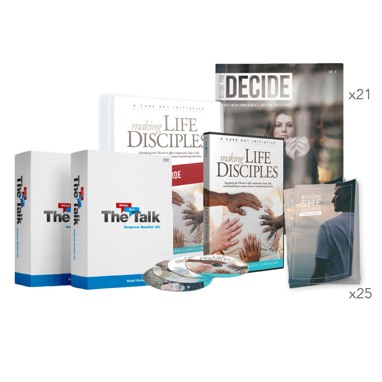 The Complete Church Bundle - Making Life Disciples & The Whole Sex Talk™